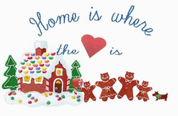 Home is where the Heart is Gingerbread