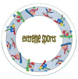 Extreme Sports Plate