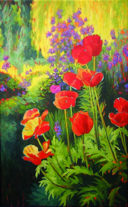 Sunshine on Poppies