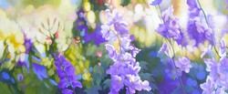 Purple Delphinium Dream
